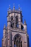 教堂钟塔,波士顿,英国。 免版税库存图片