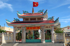 教堂门户越南语 库存照片