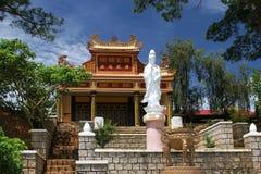 教堂雕象越南 免版税库存照片