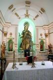 教堂cruz de福特莱萨圣诞老人 免版税库存图片