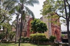 教堂cuernavaca墨西哥顺序第三 免版税库存图片