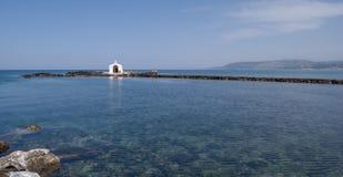教堂georgioupolis尼古拉斯st 库存图片