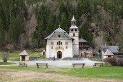 教堂Notre Dame de la Gorge 免版税库存图片