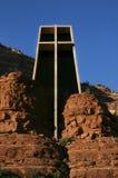 教堂sedona 库存照片