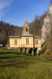 教堂sw Jozefa工匠在Ojcowie叫水的教堂 波兰 库存图片