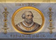 教宗若望十二世 免版税库存照片
