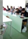教室充分的学员 免版税库存照片