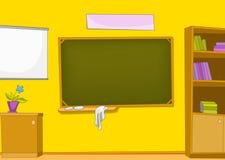 教室动画片 向量例证