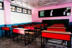 教室在印地安学校 库存图片