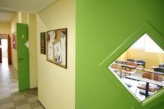教室在学校 免版税库存照片