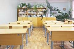 教室在学校 库存照片