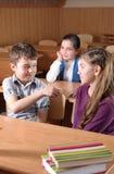 教室场面 库存照片