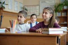 教室场面 免版税库存图片
