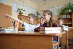 教室场面 免版税图库摄影