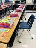 教室椅子 库存照片