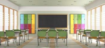 教室空现代 向量例证