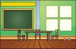 教室背景 皇族释放例证