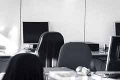 教室-个人计算机室 库存图片