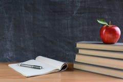 教师的服务台 免版税库存照片