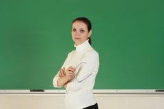 教师年轻人 免版税库存图片