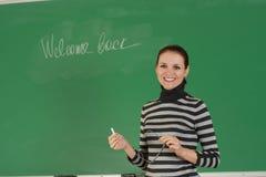 教师年轻人 免版税图库摄影
