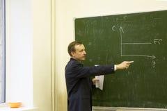 教师 免版税图库摄影