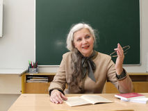 教师 免版税库存图片