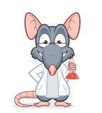 教授鼠 免版税库存图片