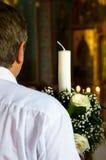 教父婚礼 免版税库存照片