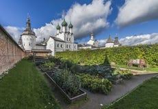 主教的庭院 库存图片