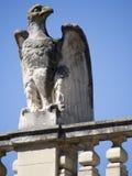 教皇宫建筑学细节,阿维尼翁法国 免版税库存图片