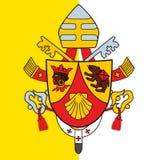 教皇本笳十六世16徽章 图库摄影