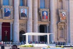 教皇的讲话阶段 免版税库存图片