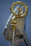教皇雕象 免版税图库摄影