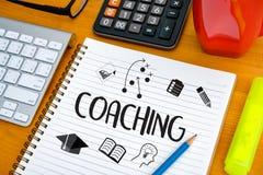 教练学会训练的计划教练企业指南Inst 免版税库存照片