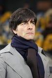 教练德国顶头joachim低国家队 库存图片