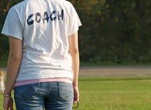 教练 免版税库存图片