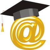 教育互联网 皇族释放例证