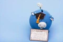 教育储蓄 免版税库存照片