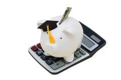 教育储蓄 免版税图库摄影