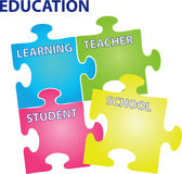 教育向量 库存照片