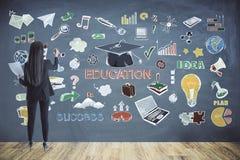 教育和想法概念 库存图片