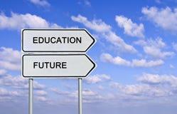 教育和未来 图库摄影