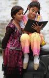 教育女孩 免版税库存图片