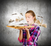 教育好处 免版税库存图片