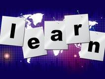 教育学会教育研究和教育的手段 免版税库存照片