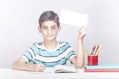 教育广告概念 库存照片