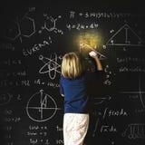 教育想象力智力学习孩子概念 免版税库存图片