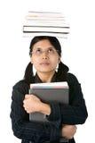 教育更高的聪明的学员 免版税库存图片
