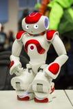 教育的可编程序的机器人 免版税库存照片